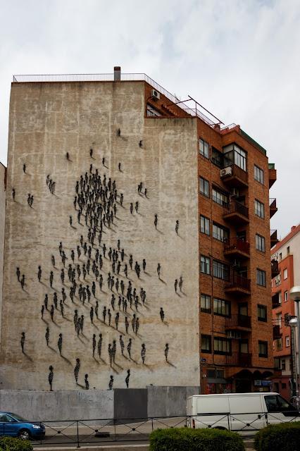 Arte urbano. Murales en el barrio de Tetuán