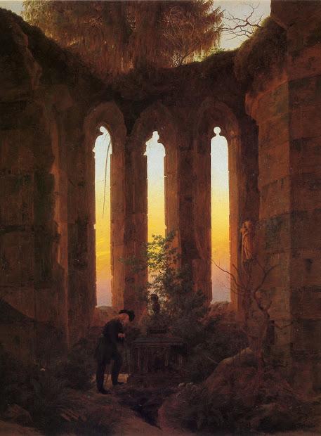 Caspar David Friedrich Romantic Symbolist Painter
