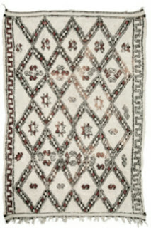 Moroccan Berber and Beni Ourain Rugs