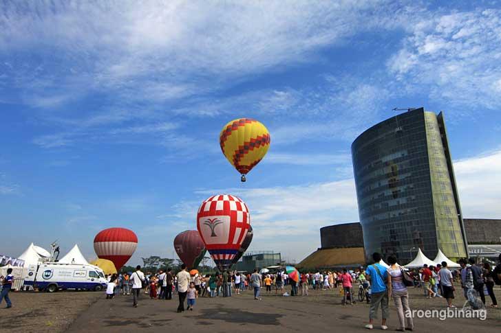 international hot air balloon sentul