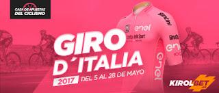 kirolbet casa apuestas ciclismo giro 2017 5-28 mayo