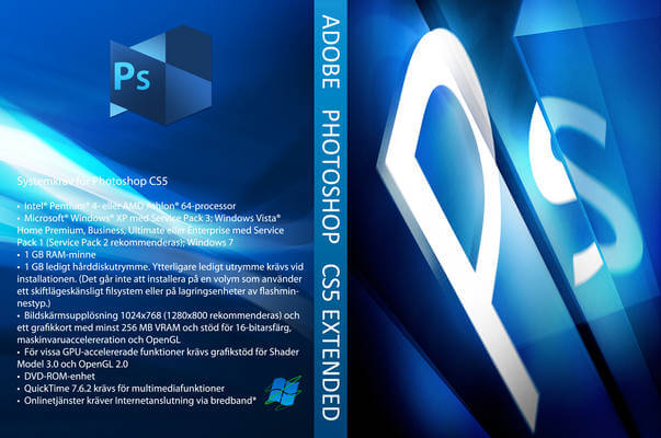Adobe photoshop CS5 avec crack