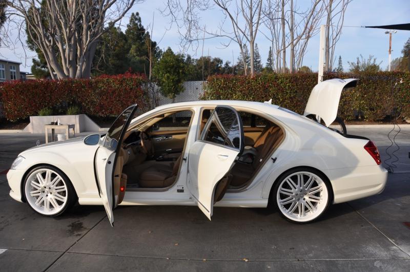 White Mercedes Benz >> BENZTUNING: Mercedes-Benz S550 W221 S-class WHITE