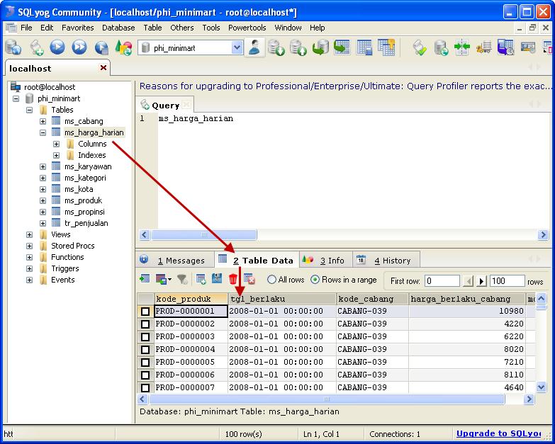 MySQL Enterprize Full Version + Connectornya Teknokrat