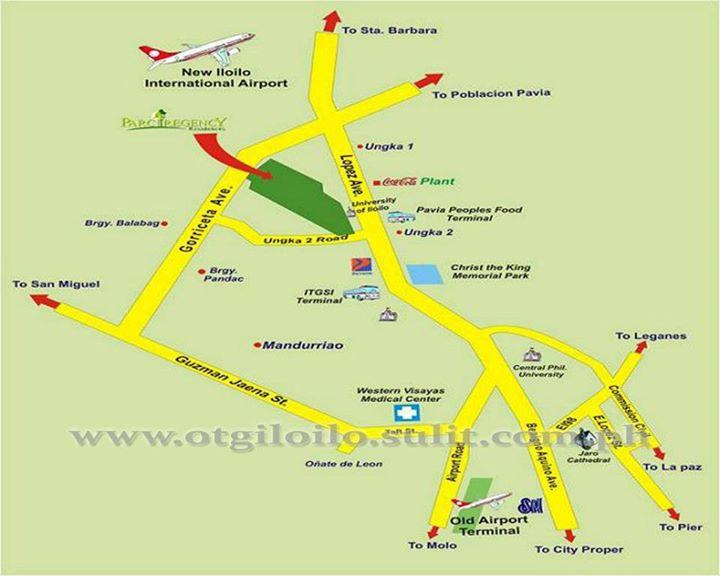 Iloilo International Airport Map About Us ~ Parc Regency
