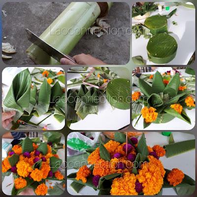 Making a Katong ກະໂທງ