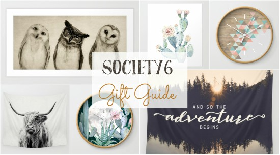 Shop for unique gifts featuring original artwork at Society6!!