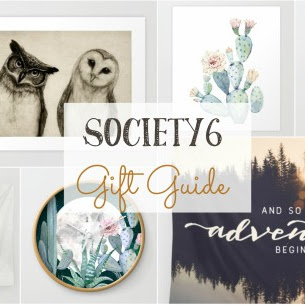 Society6 Gift Guide and A Giveaway!