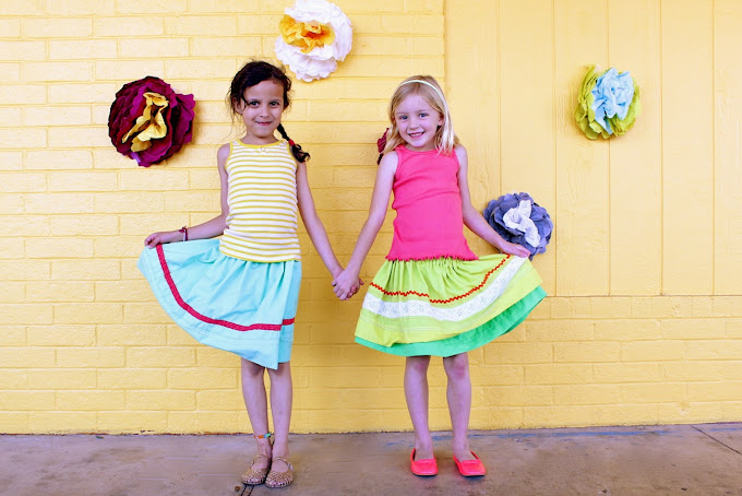 Fiesta Skirts | Cinco de Mayo Crafts You Can Sew For Your Fiesta At Home | Sewing