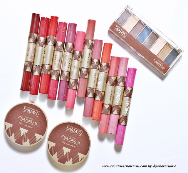 Rangkaian Make Up Sariayu Trend Warna Krakatau