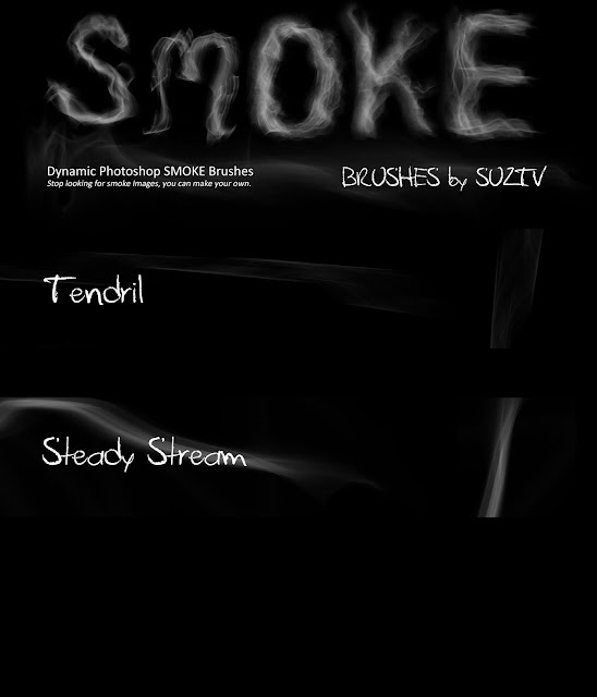 Smoke Brushes for Photoshop set 05