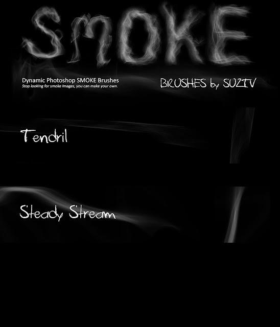 Smoke Brushes for Photoshop set 05