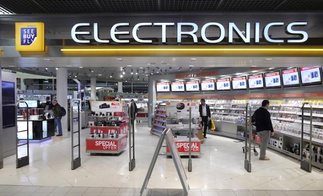 Aeroporto Internacional de Schiphol para compras de eletrônicos em Amsterdã