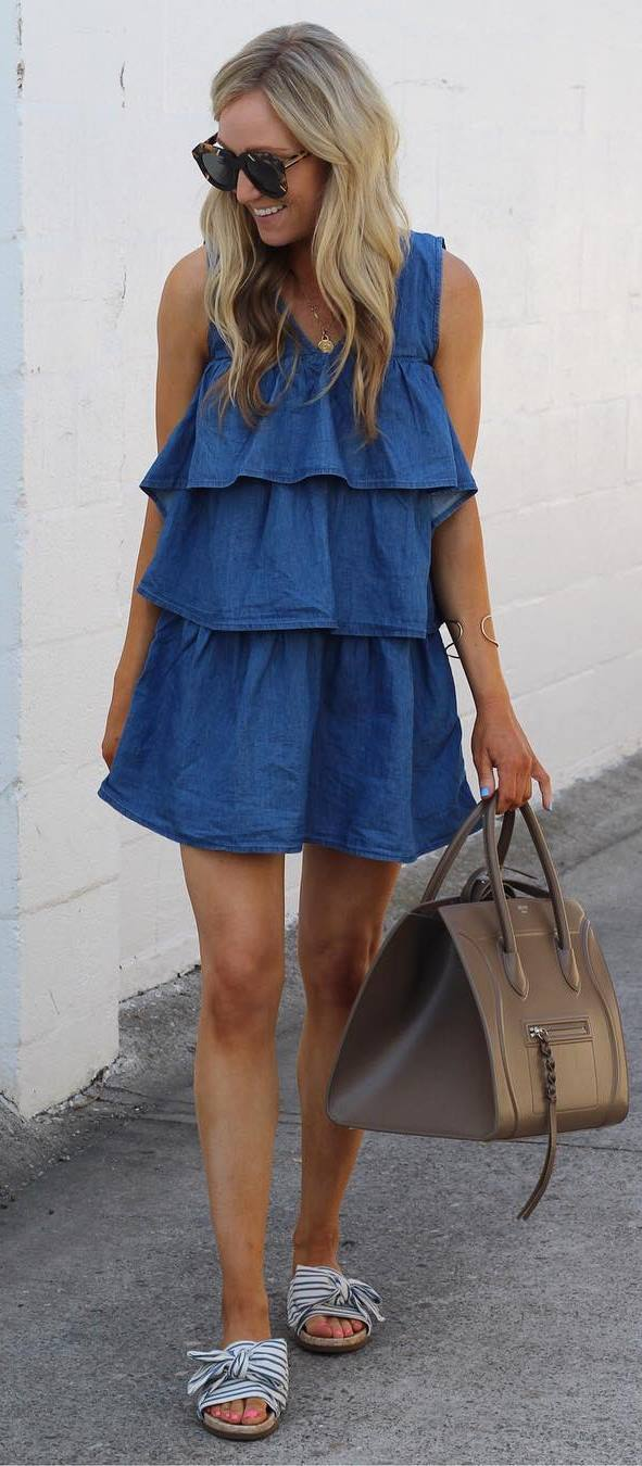 amazing outfit dress + bag