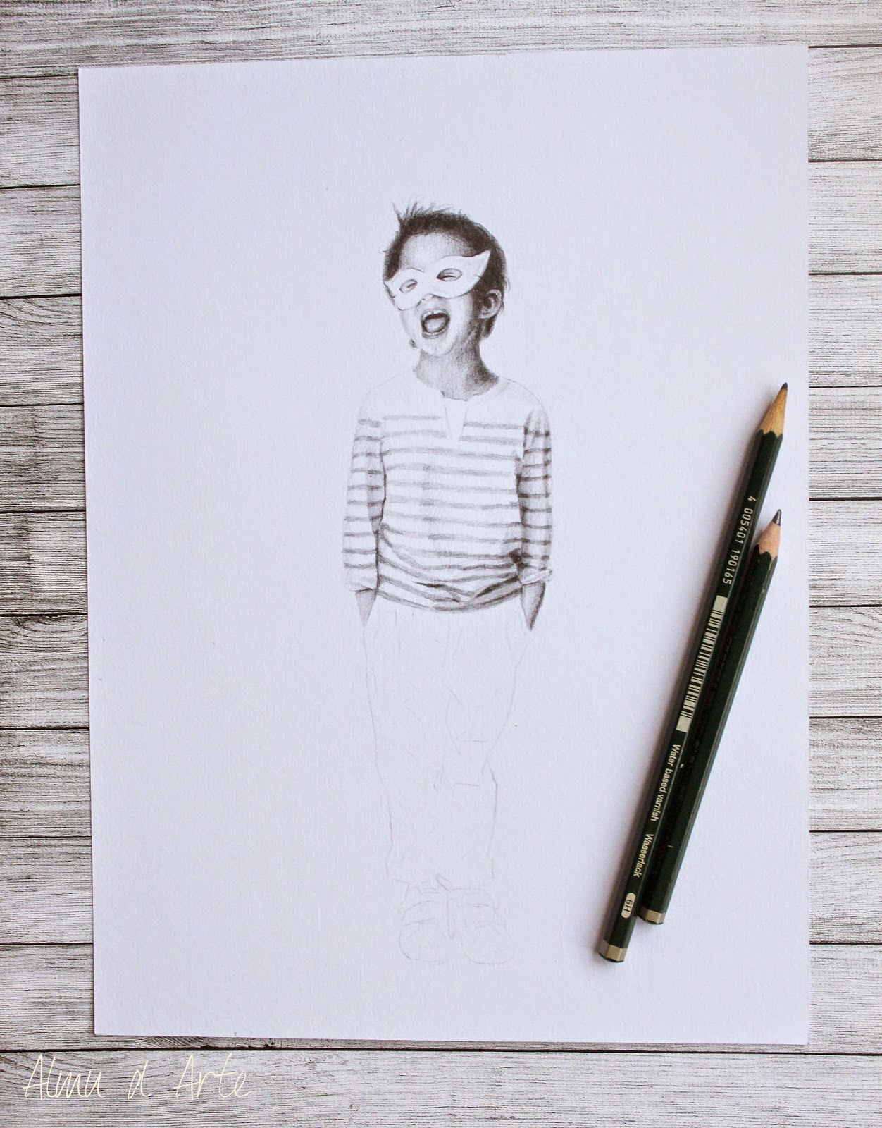 Un dibujo paso a paso