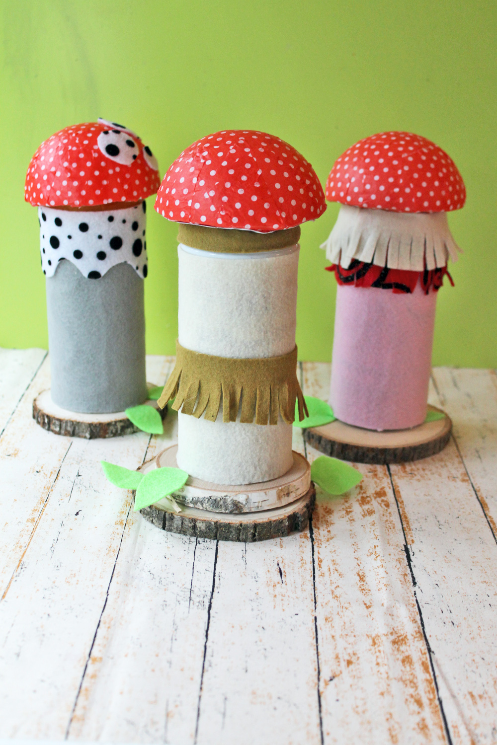 Recycle empty @Piroulinecookie tins into mushrooms using this tutorial by @punkprojects