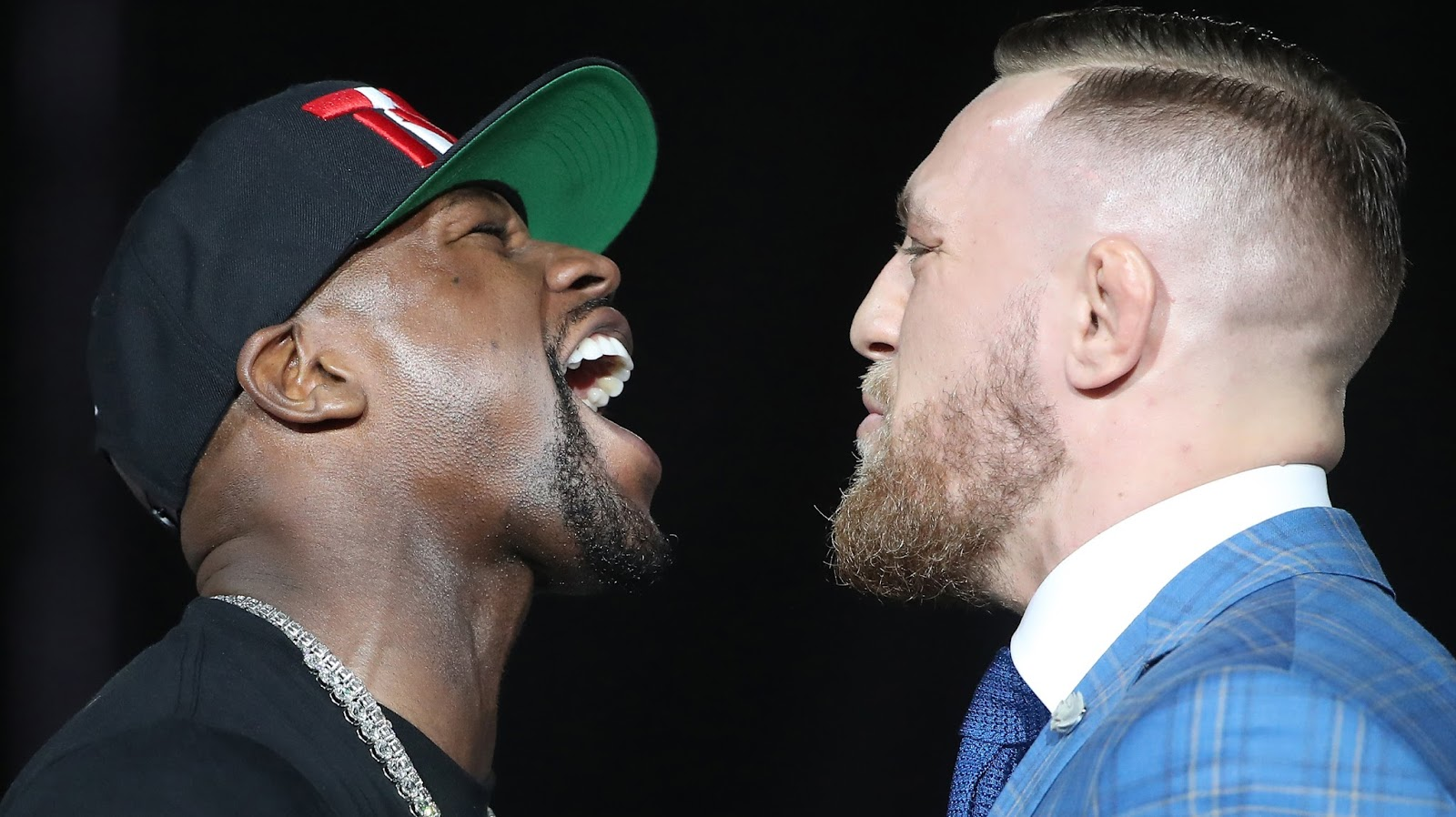 FLOYD MAYWEATHER VS. CONOR MCGREGOR 17