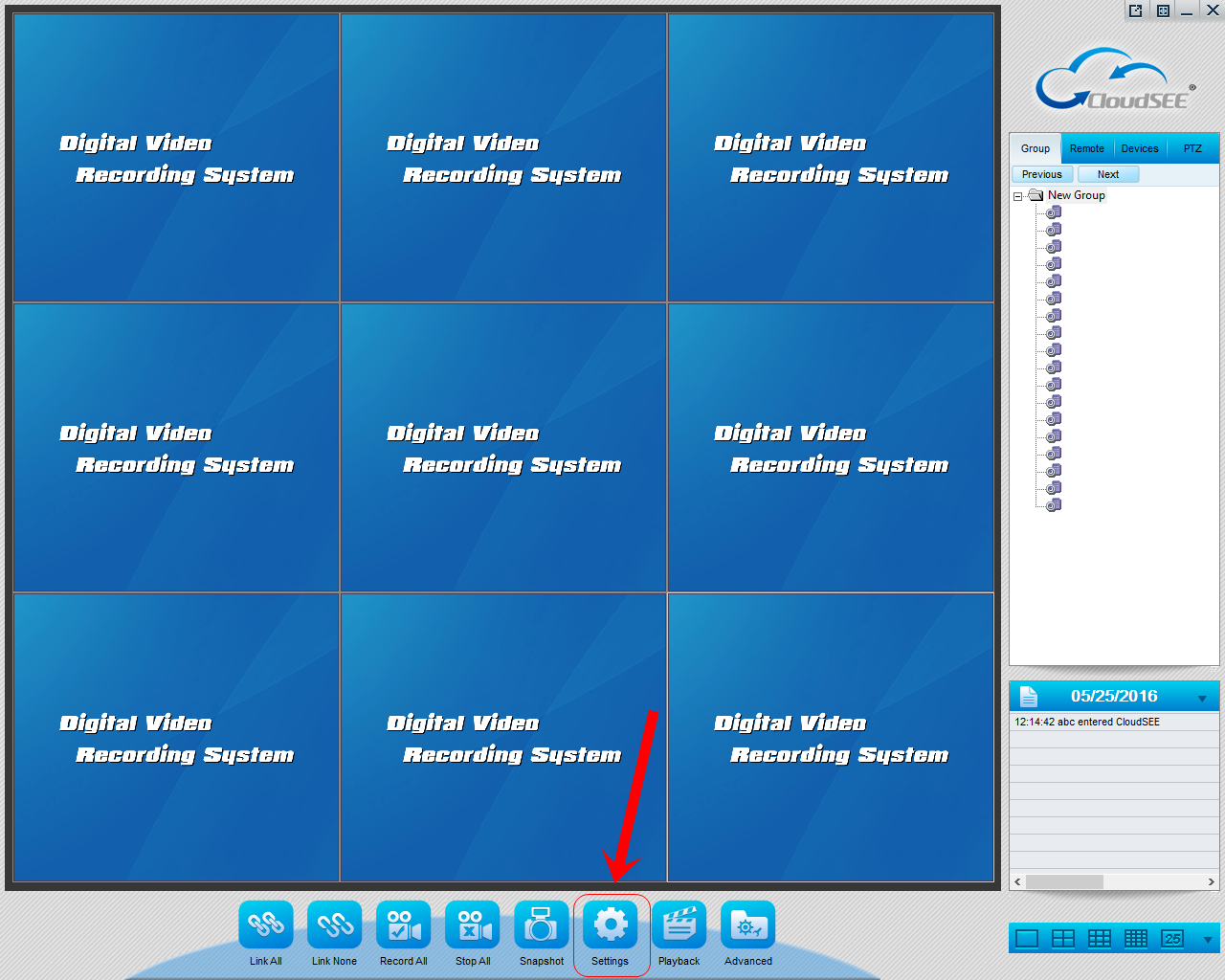 CloudSEE CCTV Camera PC CMS Software Settings and User Manual