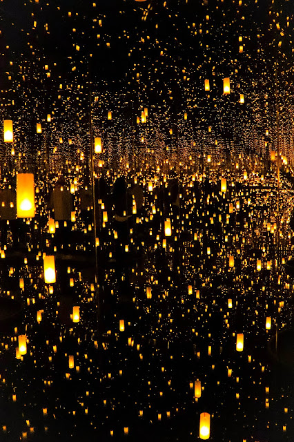 Yayoi Kusama Infinity Mirrors Obliteration Room Photos Toronto