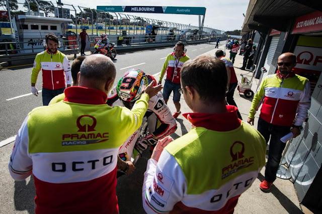 Berita motogp Tim Pramac perpanjang kontrak dengan Ducati sampai 2018