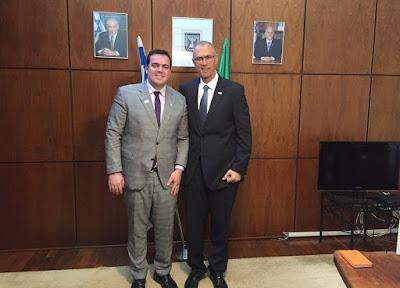 Prefeito de Aparecida de Goiânia articula parcerias com empresários de Israel