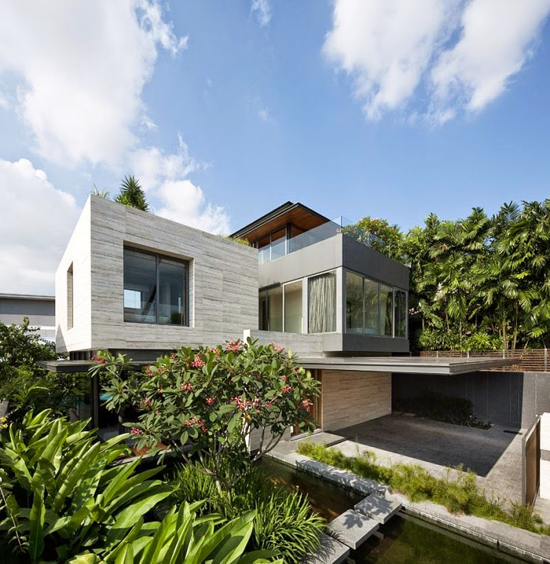Green Home Design Ideas: Contemporary Tropical House By Wallflower Architecture