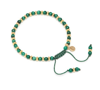 Modern Green Jewellery - Lola Rose Malachite Bracelet