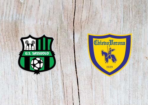 Sassuolo vs Chievo - Highlights 4 April 2019