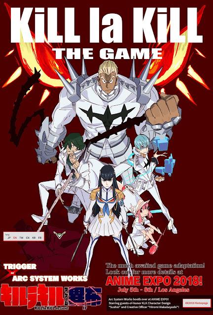"""Anunciado un juego basado en el anime """"Kill la Kill"""""""
