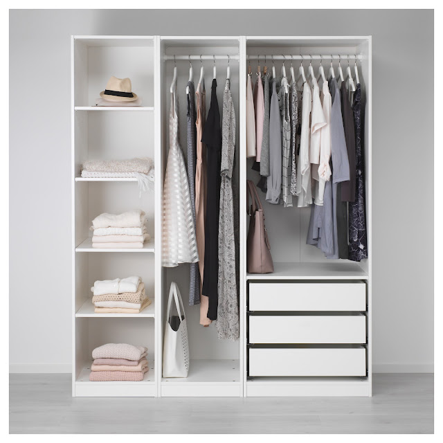 IKEA, wardrobe, organisation, fashion, lifestyle,