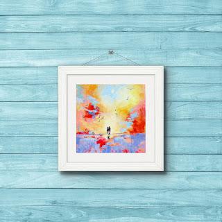 impressionist art print mary kemp