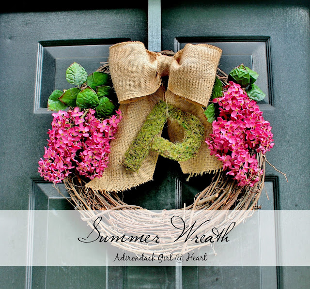 Summer Lilac Wreath