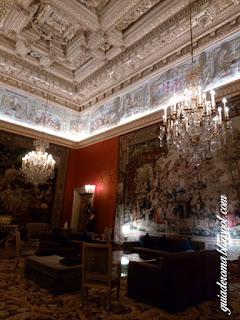 palacio farnese salao vermelho guia roma portugues - Palácio Farnese