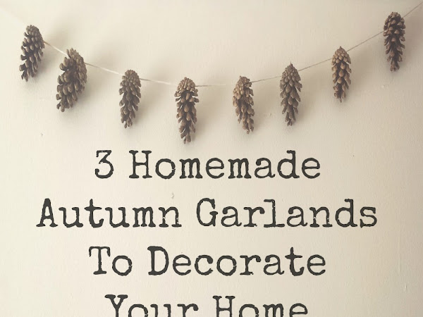 3 Autumn Garlands To Decorate Your Home