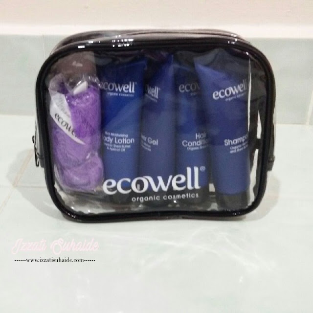 Rejuvenating 30-Day Travel Essentials Organic Bath Care Series Dari Ecowell