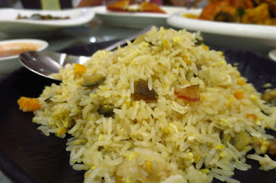 Chin Huat Live Seafood, three egg fried rice