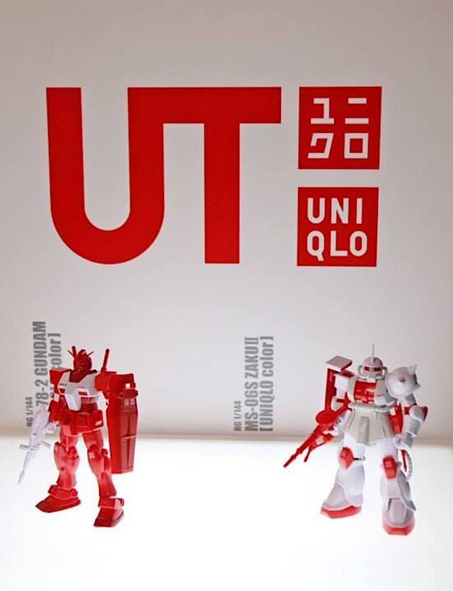 UNIQLO Collectibles for Gundam 40th Anniversary Project