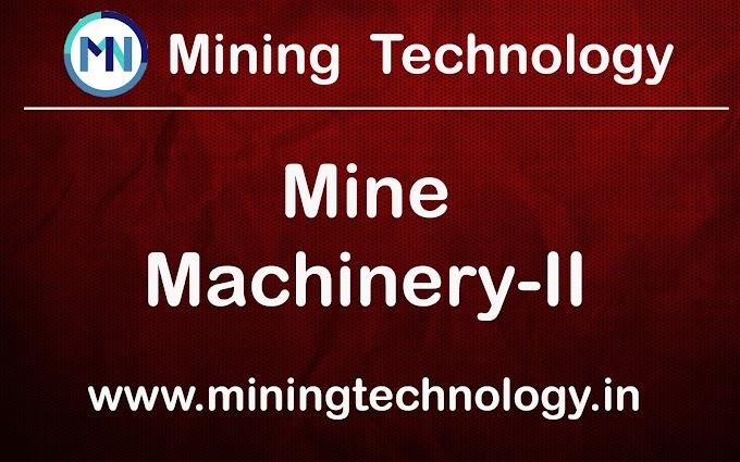 DMNG MINE MACHINERY-II