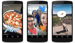 Cara Menggunakan Instagram Versi Baru di Instagram Stories