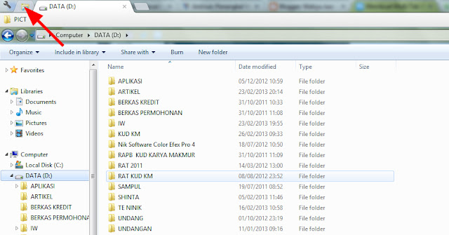 Clover 2: Membuat Multi Tab di Windows Explorer