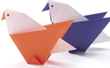 plegado de papel para ninos pequenos