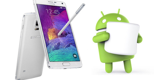 Samsung Galaxy Note 4 begins to receive the update to Android Marshmallow