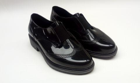 Sapato Oxford Preto com tratorado Zaxy