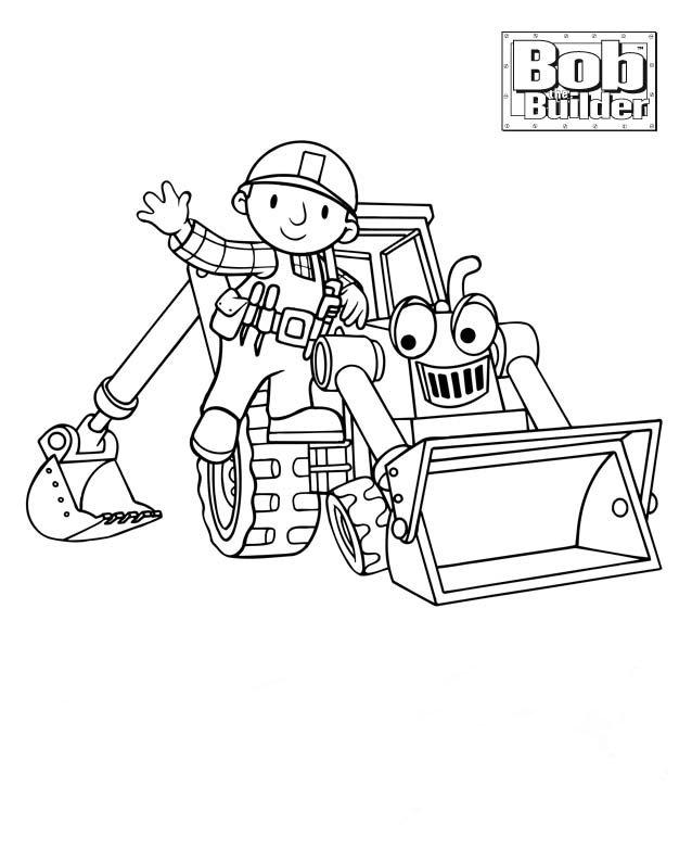 Desenhos Para Colorir: Desenhos Para Colorir Bob O Construtor