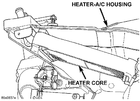 Durango Heater Core Replacement