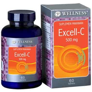 Wellness Excell-C 500 mg Vitamin Untuk Daya Tahan tubuh