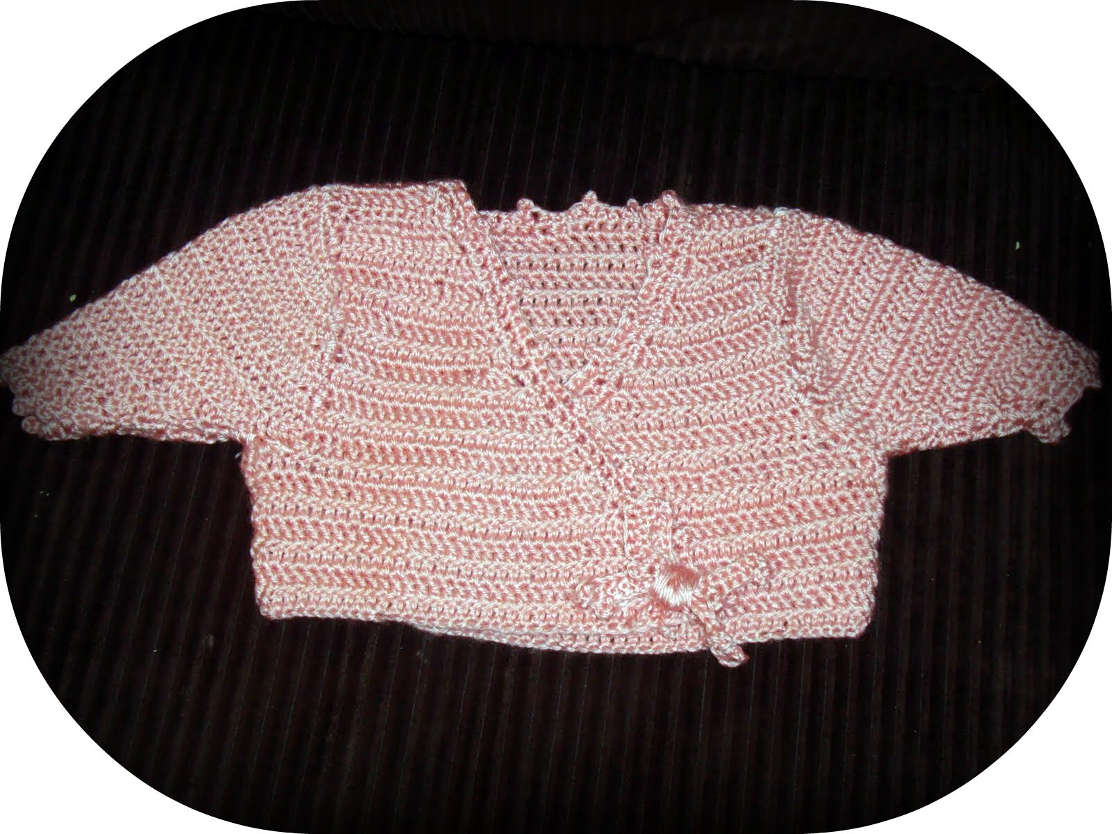 c1103f34dd5b The Recovery and Reinventment Project  Crochet Baby Wrap Sweater