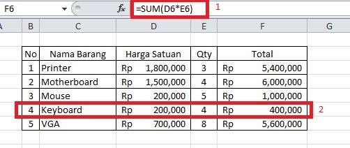 Formula Di Excel Tidak Berfungsi Otomatis, Ini dia Penyebabnya !!!