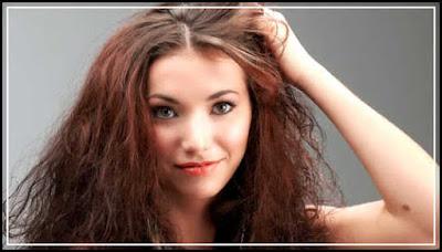 gambar artikel cara merawat rambut kering