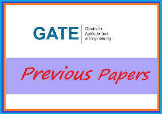 GATE Previous Papers Old Exam Papers | GATE Question Paper